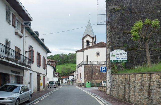 Photo of Valcarlos on the Camino de Santiago