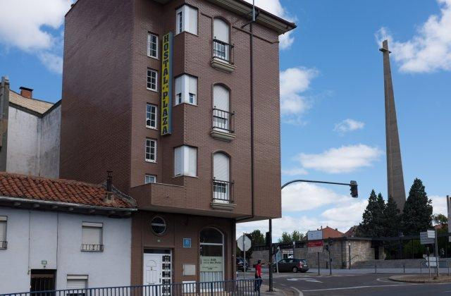 Camino de Santiago Accommodation: Hostales Plaza y San Froilán ⭑⭑