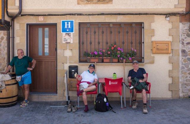 Camino de Santiago Accommodation: Hotel Redecilla del Camino ⭑