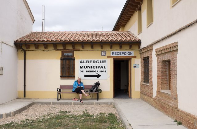 Photo in Albergue Municipal de Calzadilla de la Cueza on the Camino de Santiago