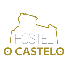camino de santiago Hostel O Castelo stamp and sello