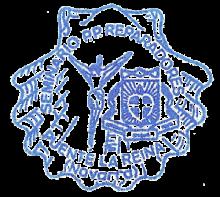 camino de santiago Albergue de los Padres Reparadores stamp and sello