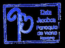 camino de santiago Alberguería Andrés Muñoz stamp and sello