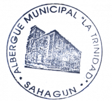 camino de santiago Albergue de Peregrinos Cluny stamp and sello