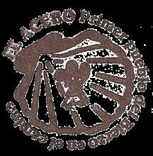 camino de santiago Albergue Mesón El Acebo stamp and sello