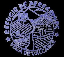 camino de santiago Albergue de Vega de Valcarce stamp and sello