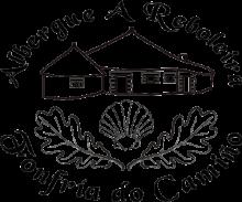 camino de santiago Albergue A Reboleira stamp and sello