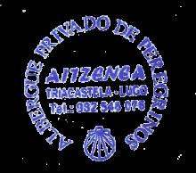 camino de santiago Albergue de Peregrinos Aitzenea stamp and sello