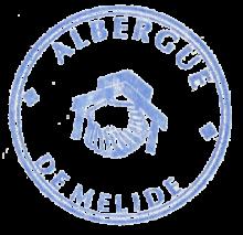 Albergue de Melide - Stamp