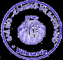 camino de santiago Albergue O Rueiro stamp and sello