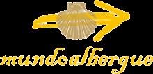 camino de santiago Albergue Mundoalbergue stamp and sello