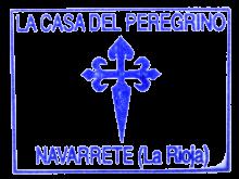 camino de santiago Albergue La Casa del Peregrino stamp and sello