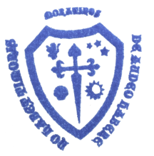 camino de santiago Albergue de peregrinos San Bruno stamp and sello
