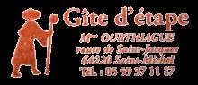 camino de santiago Albergue Ferme Ithurburia stamp and sello
