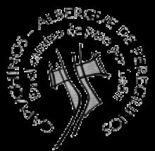 camino de santiago San Francisco de Asis Fundación Ademar stamp and sello