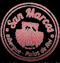 Palas de Rei - Albergue San Marcos Stamp