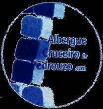 camino de santiago Albergue Cruceiro de Pedrouzo stamp and sello