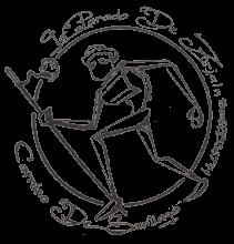 camino de santiago Albergue La Parada de Zuriain stamp and sello