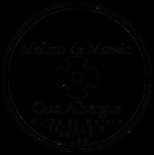 camino de santiago Albergue Molino de Marzán stamp and sello